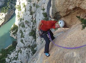 initiation escalade Verdon